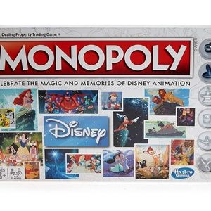 HASBORO Walt Disney Animation Monopoly